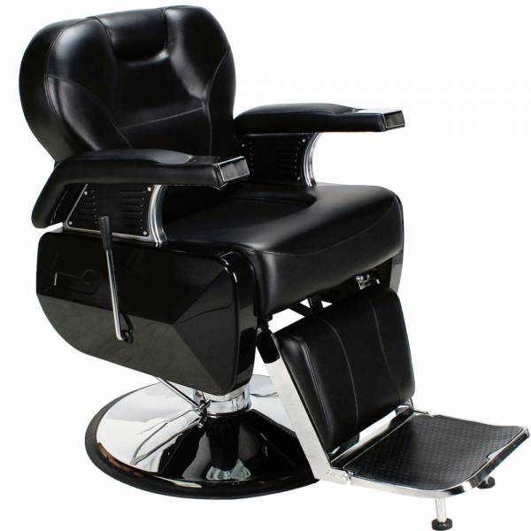 Herrenstuhl 205001 schwarz Friseurstuhl
