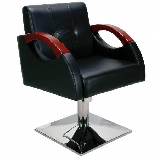 Friseurstuhl 205485 schwarz