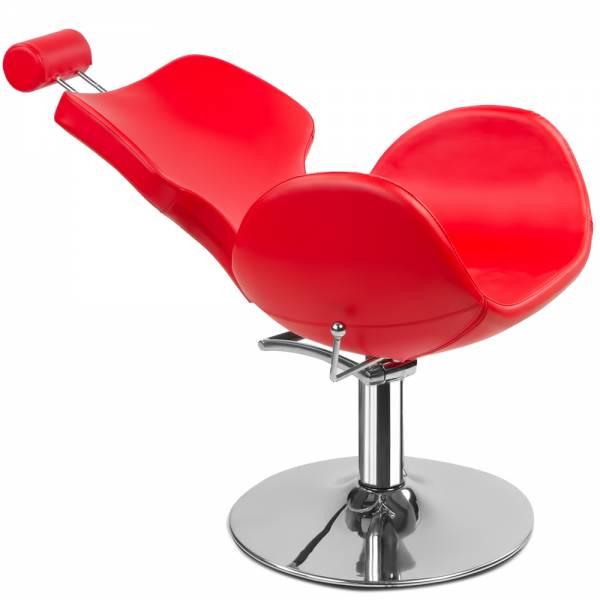 Sedia da parrucchiere 205172 rossa