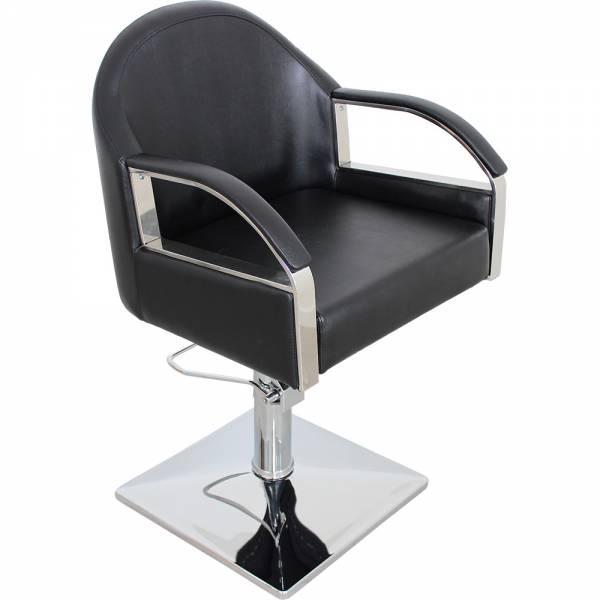 Friseurstuhl s50566 schwarz