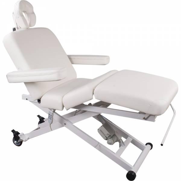 103336 weiß Vollelektrische Behandlungs- Massageliege mit 3 Motoren