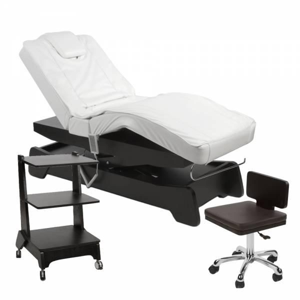 950208 Massagekabine schwarz / weiß