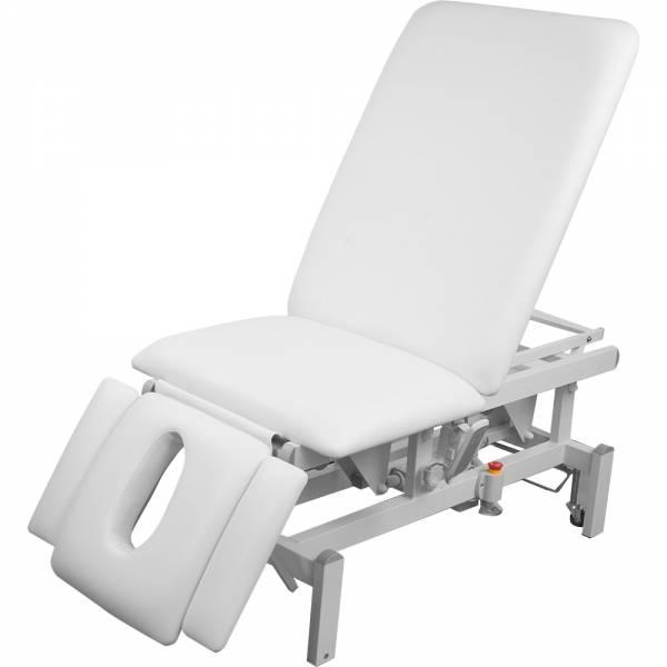 008273 vollelektrische Behandlungsliege weiß
