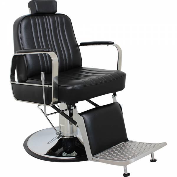 Herrenstuhl HS5047 schwarz Friseurstuhl Herrenfriseurstuhl