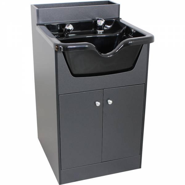 Friseurwaschbecken w56012 schwarz