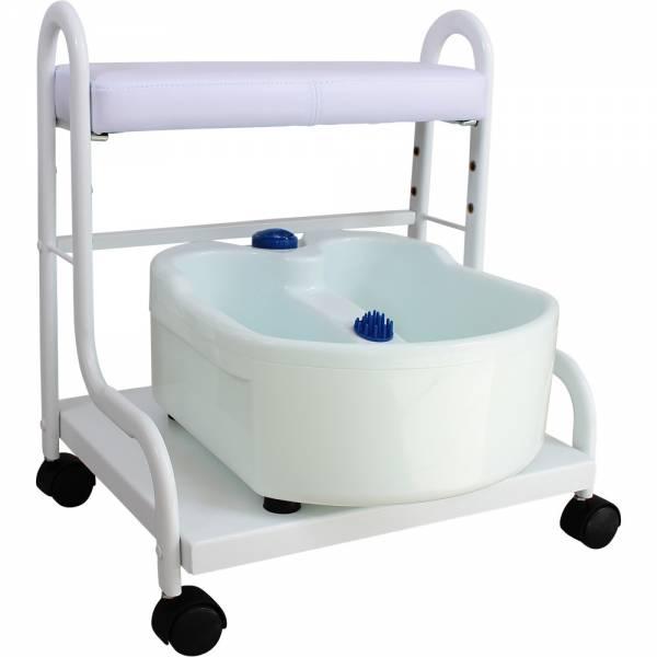 Fußpflegestuhl FB0103 mit Fußmassagebad Fußsprudelbad Fussmassagegerät