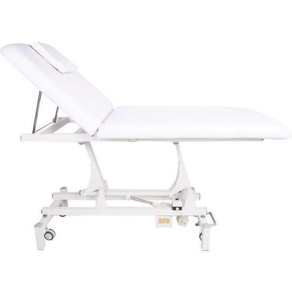 008280 Weiss elektische Bobathliege / Behandlungsliege