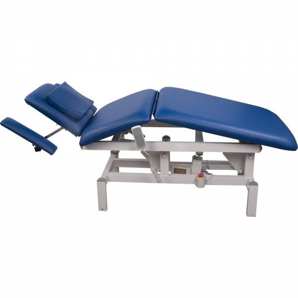 078273 vollelektrische Behandlungsliege blau