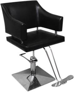 Friseurstuhl 205133 schwarz
