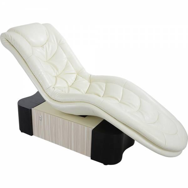 Divano benessere 003361-1H bianco con materasso ad acqua riscaldabile