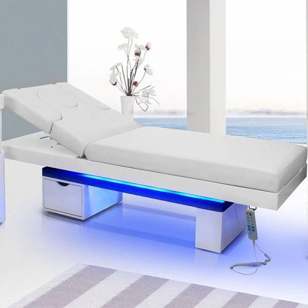 Massageliege 003815 Wellnessliege Weiß