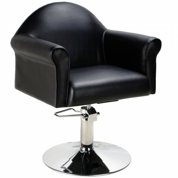 Friseurstuhl 205495 schwarz