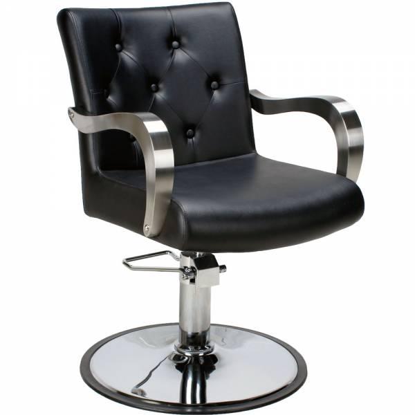 Friseurstuhl 205498 schwarz