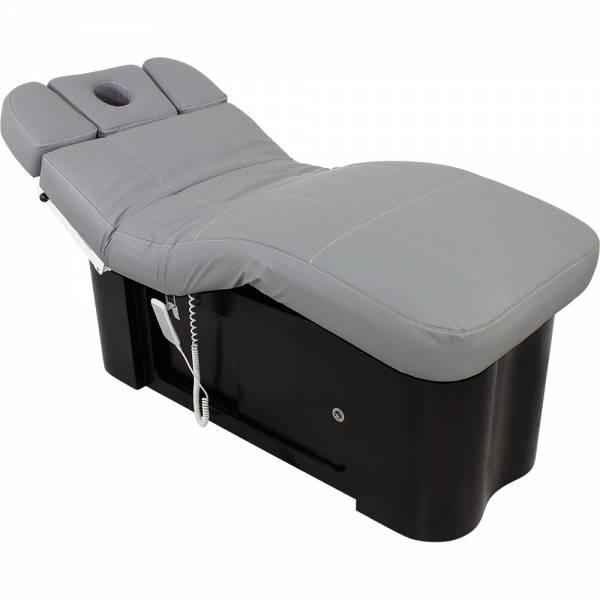 Wellness- Massageliege L20895 grau / schwarz