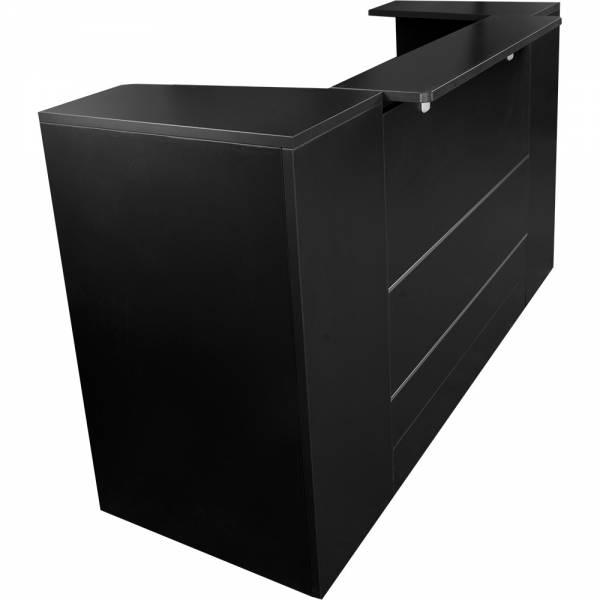 Comptoir d'accueil E0KP60 noir Comptoir d'accueil