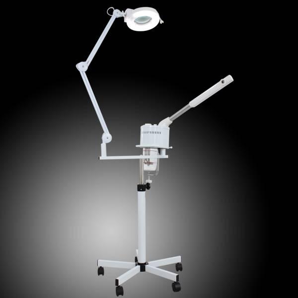 2i1707 2in1 Vapozon & Lupenlampe Bedampfer mit Ozonlicht